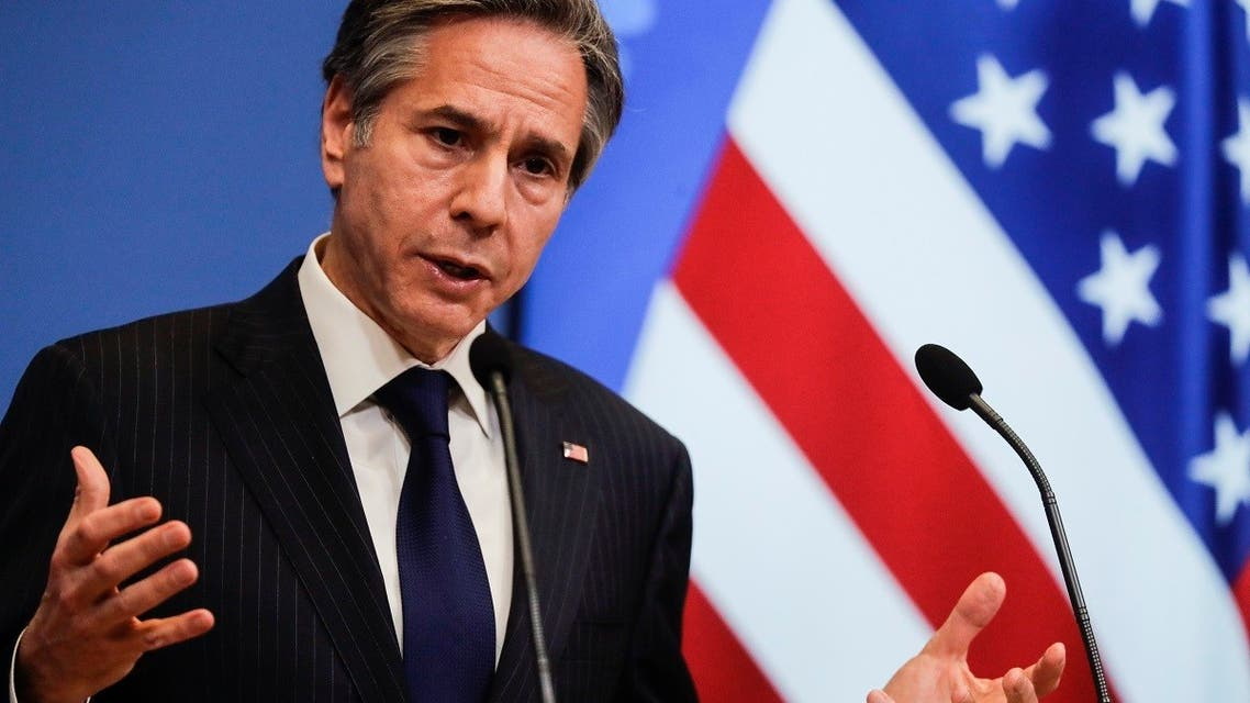 US Secretary Blinken assails Russia for Syria role, calls for more border openings