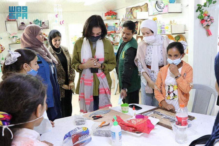 JOHUD's Delegation Visits KSrelief's Complex in Zaatari Camp, Jordan