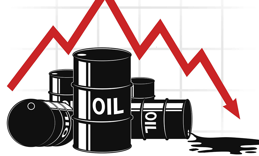 Global oil prices drop globally