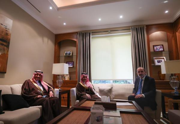 Saudi ambassador: Saudi Foreign Minister reaffirmed support of Jordan
