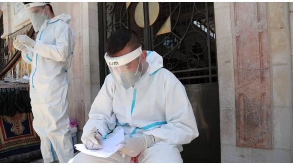 11411 active COVID-19 cases in Jordan