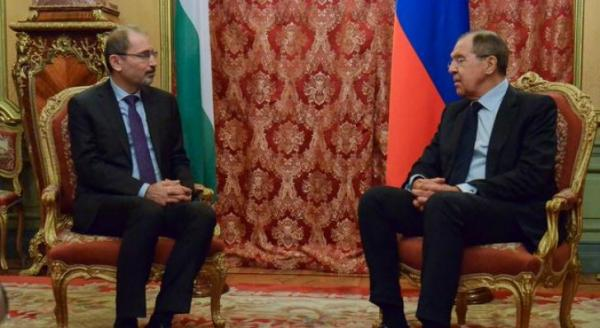 Safadi , Russian counterpart agree coordination on regional issues
