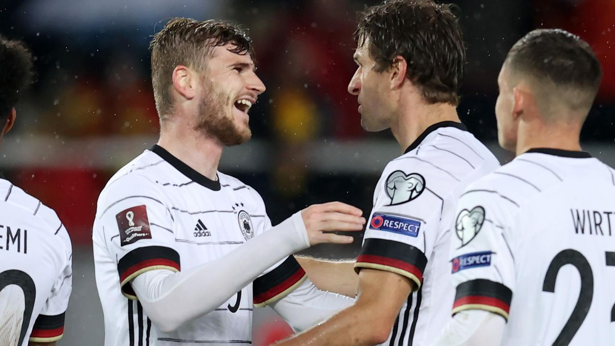 Havertz and Werner score as slick Germany become first to qualify for World Cup