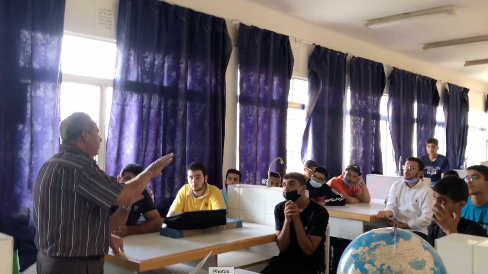 DECOST: training lectures in Jordan schools about waste management and composting