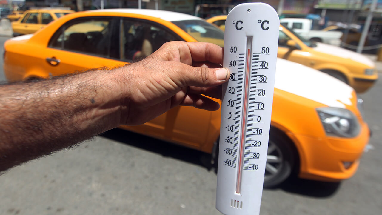 13 Arab cities record highest temperatures globally