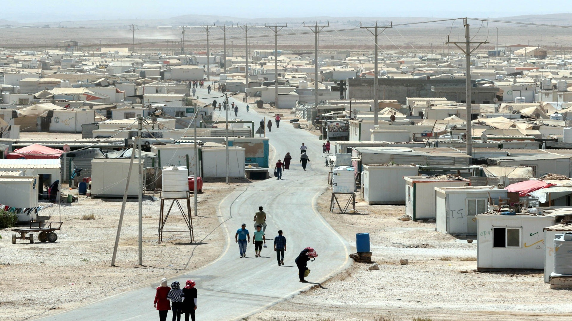 EU, UN officials vow support for Jordan in refugee crisis at Brussels conference