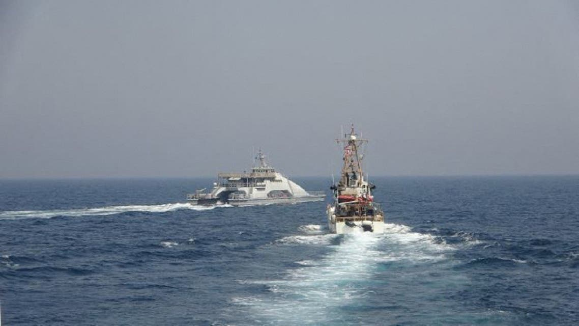 US Navy says it fired warning shots at IRGC vessels in Gulf waters