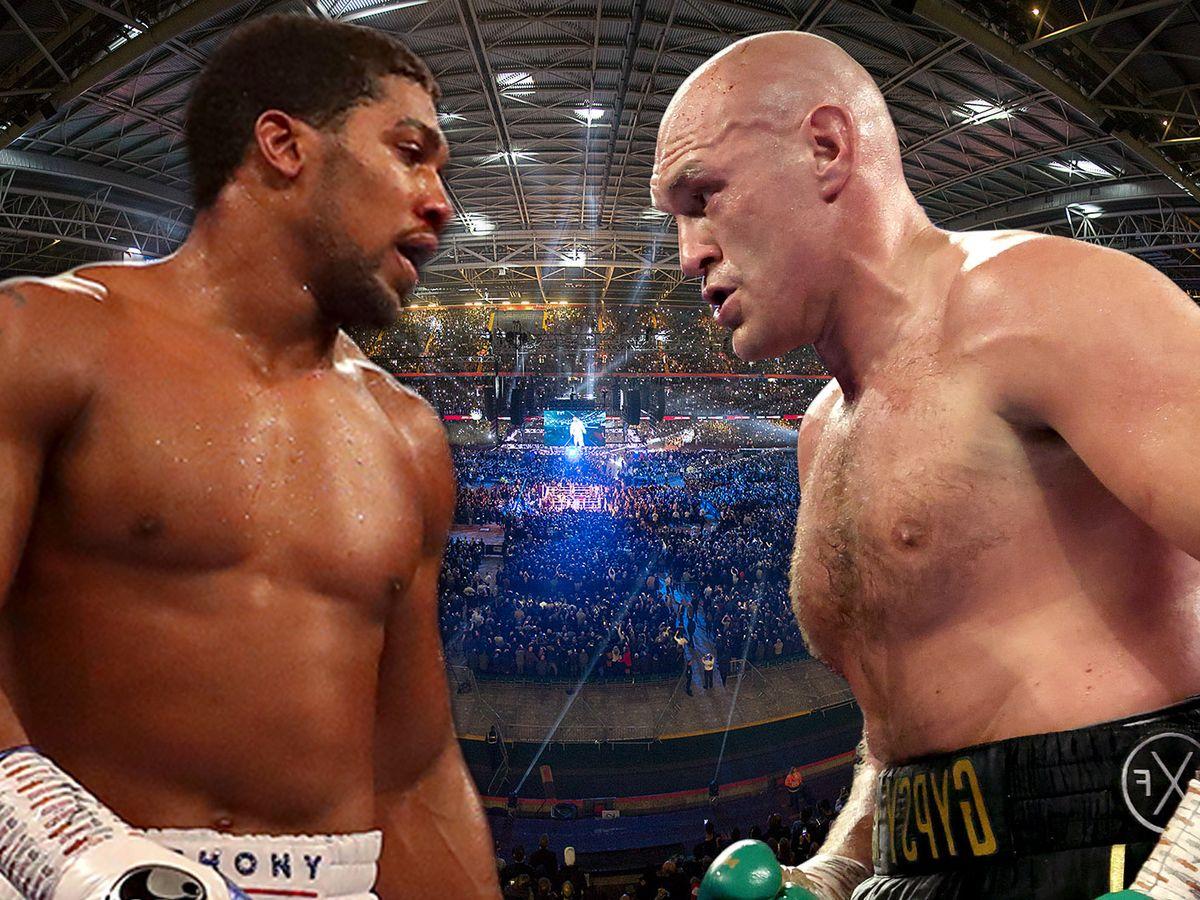 Anthony Joshua vs Tyson Fury takes huge step forward as WBO contact Oleksandr Usyk who may fight Joe Joyce