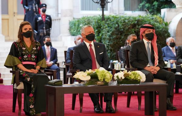 King attends 75th Independence Day ceremony, bestows Order of State Centennial on leading figures