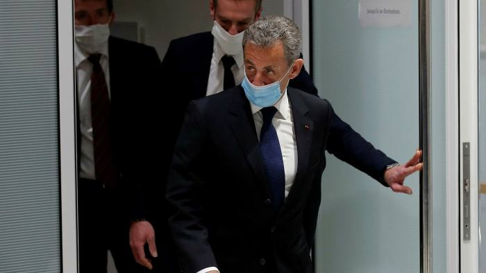 France's Sarkozy sentenced to three years over corruption charges