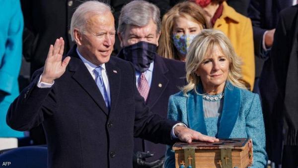 Biden sworn in as 46th US President