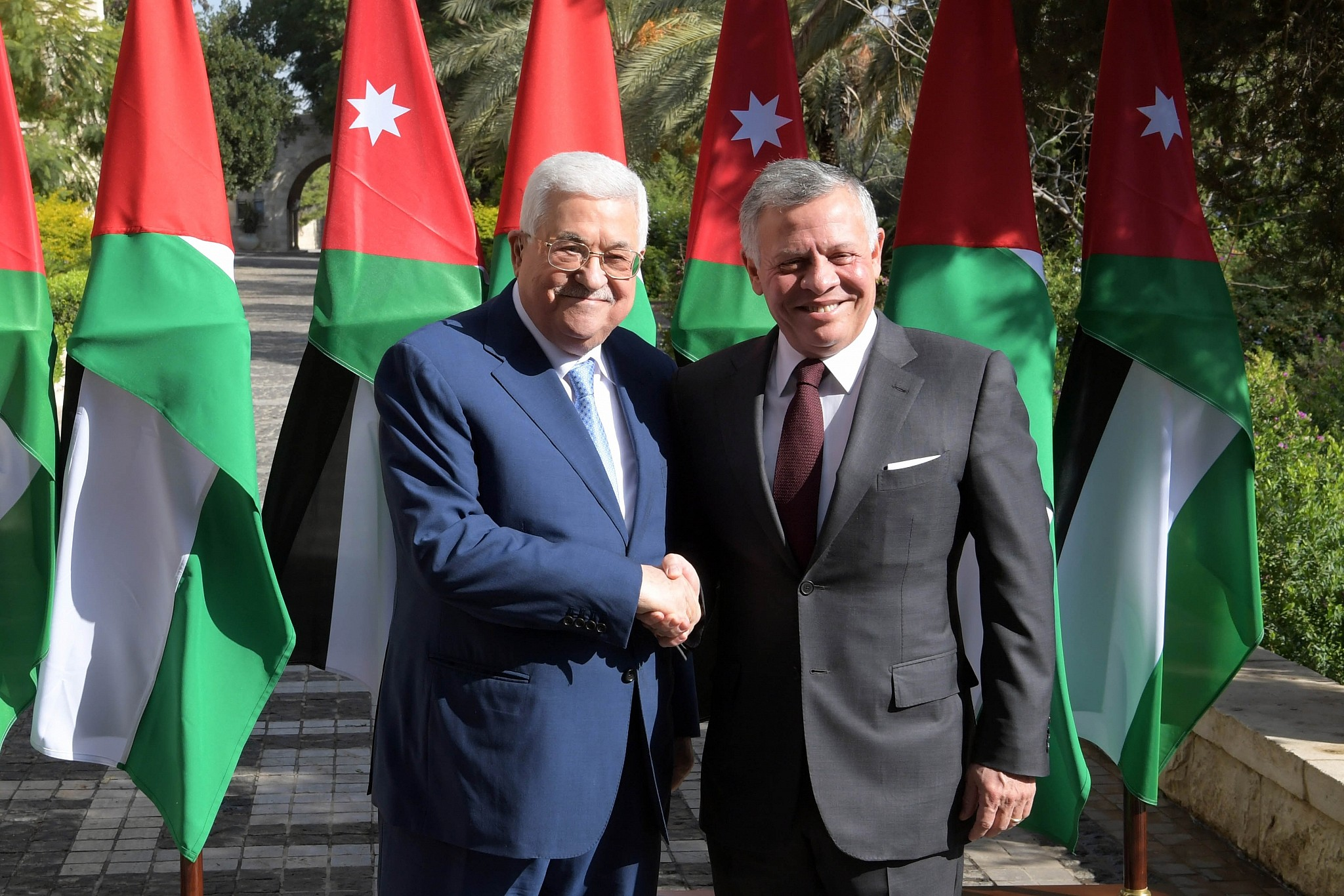 Jordanian and Palestinian leaders pin hopes on Biden reviving two-state solution