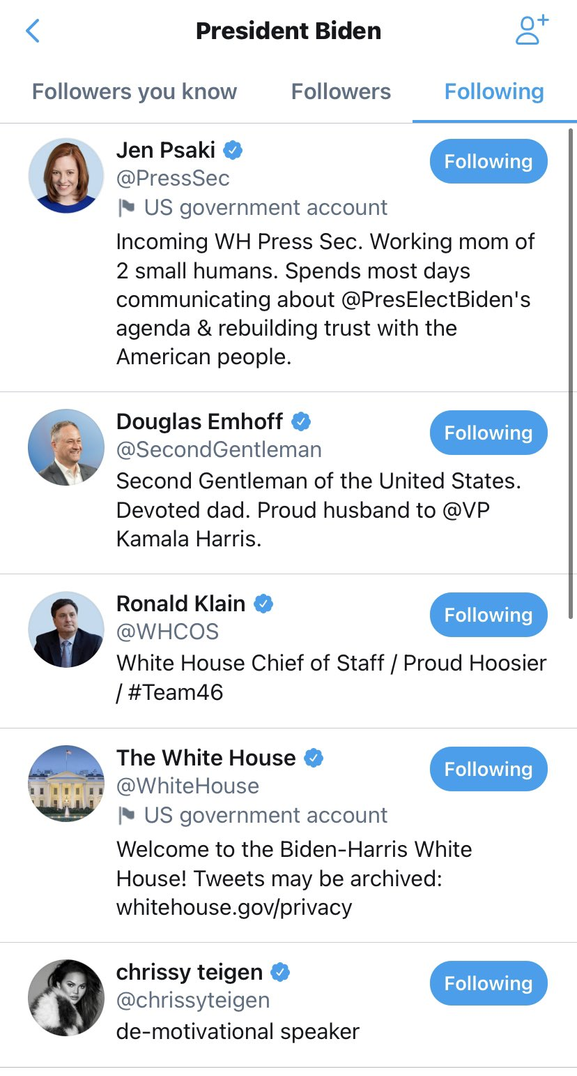 The Only Celeb That @POTUS Follows On Twitter (And Why)