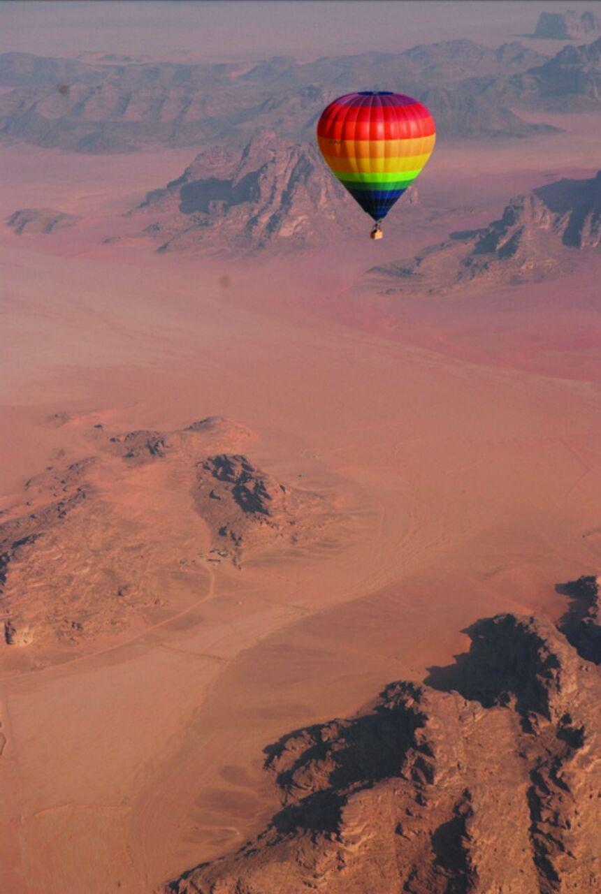 Jordan Hot Air Balloon Festival added to Urdun Jannah's itinerary