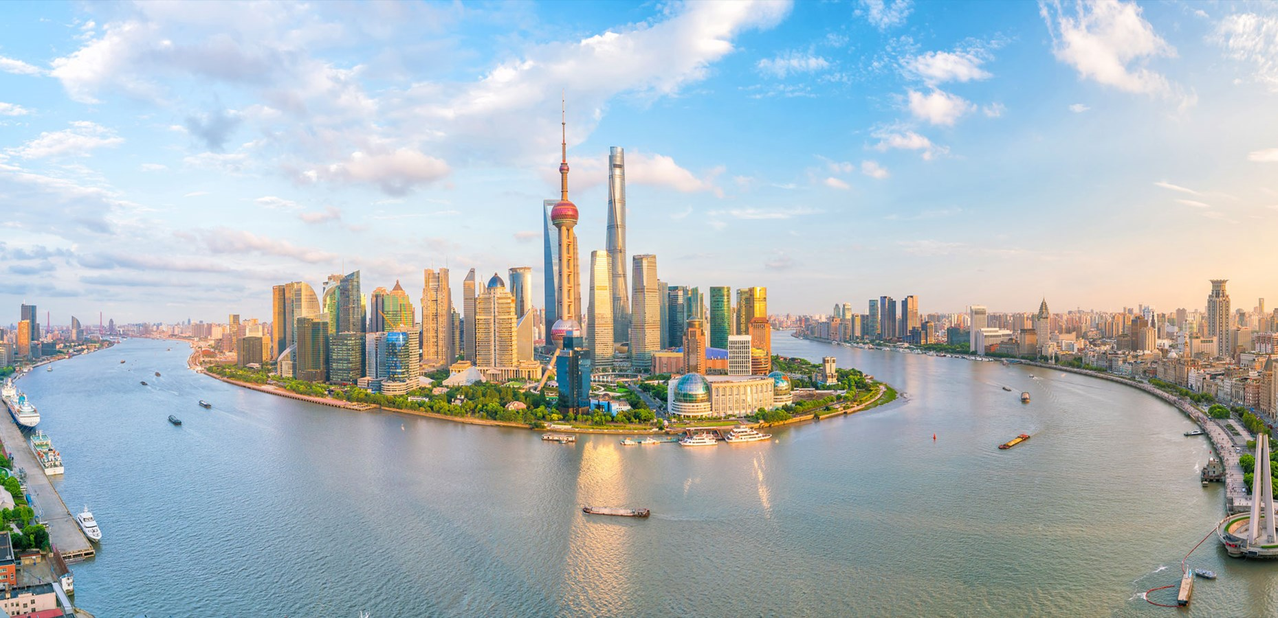 Coronavirus: Shanghai rises to become world's most connected city