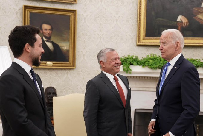King Abdullah's Visit to the United States of America