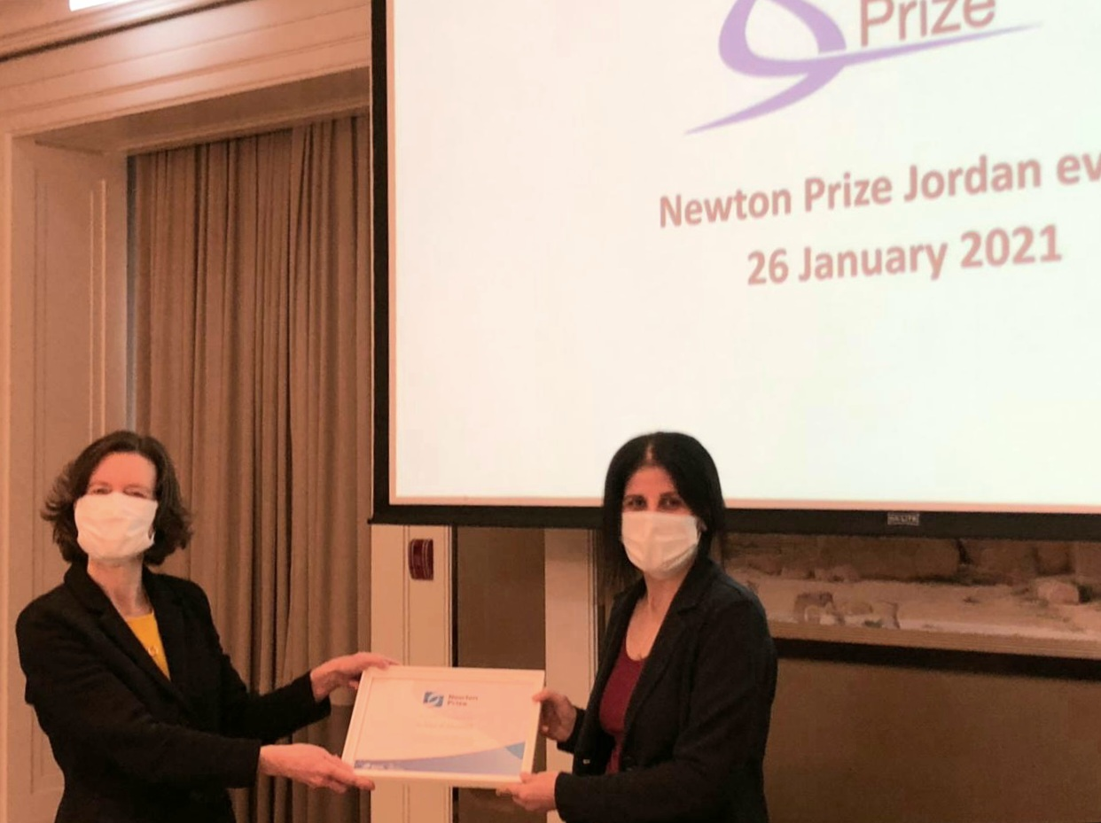 """""""Our Past, Our Future, All Together in Faynan"""" project awarded the UK Newton Prize 2020"""