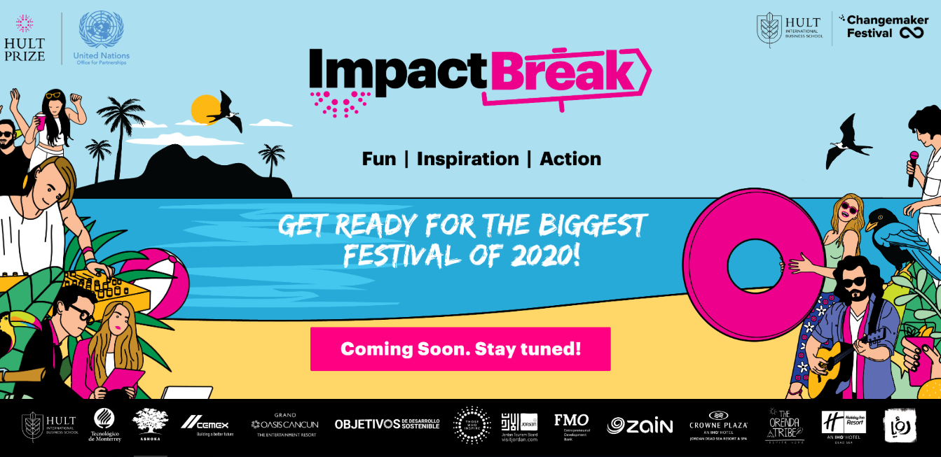 Hult Prize Impact Break at The Dead Sea