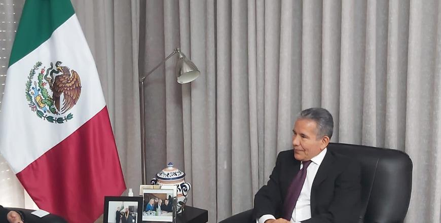 Mexican ambassador hails ties with Jordan, urges further trade cooperation