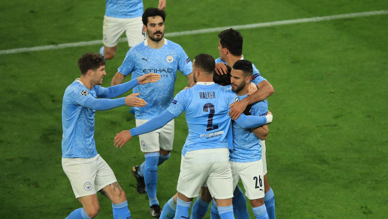 Mahrez and Foden send Man City into last four with win in Dortmund
