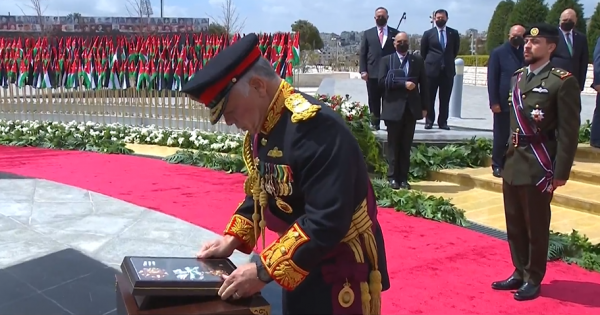 King, Crown Prince pay tribute to martyrs' sacrifices on state centennial anniversary