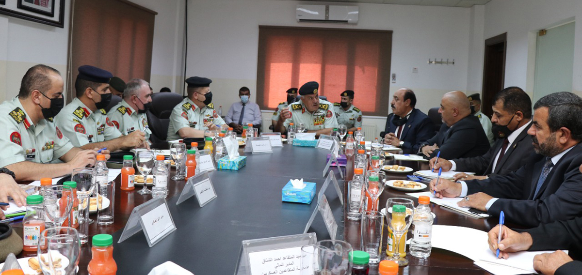 Army chief visits Economic Social Association of veterans