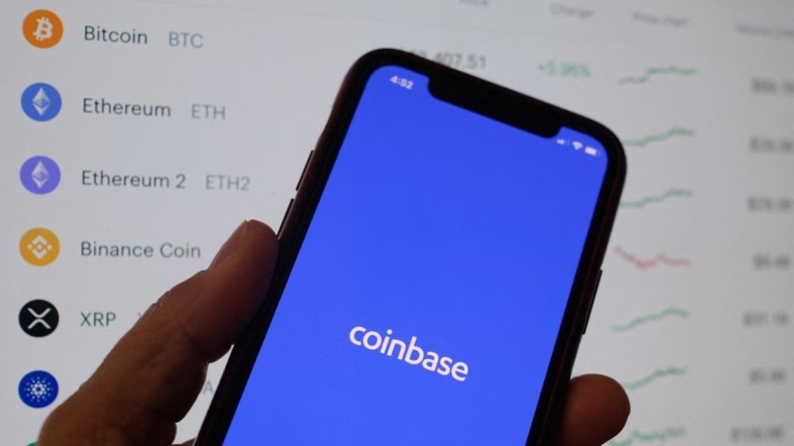 Cryptocurrency exchange Coinbase goes public