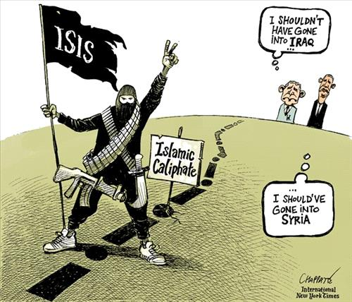 Isis Caricature Ammon News
