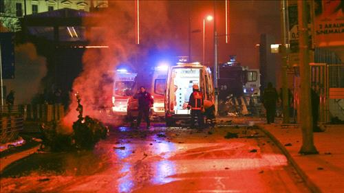 Twin blasts outside Istanbul stadium killed at least 13 people: security sources
