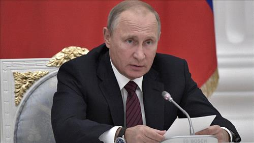 Breakdown of Syria prevented, political settlement on agenda: Putin