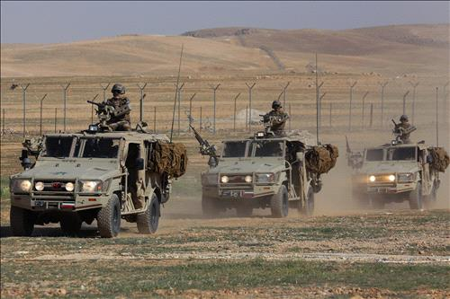 Jordan boosts border forces amid ISIS threat from Iraq, Syria