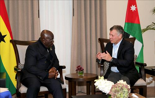 Buhari meets King Abdullah of Jordan over global terrorism