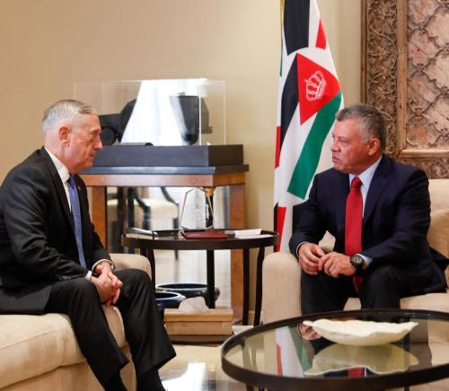 United States keen on further support for Jordan - Mattis
