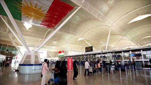 Irbil braces for flight ban following independence vote