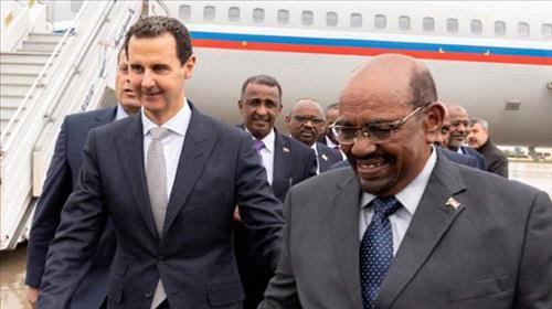 When Bashir met Bashar: Sudan's president visits Damascus to meet Assad