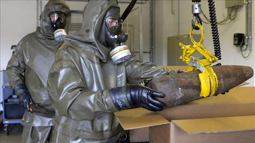 USA  concerned over possibility of sarin gas used in Syria