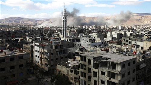 Syrian Army seals off major eastern Ghouta towns