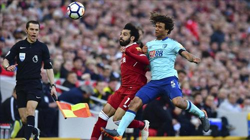 Salah reaches 40th goal of season as Liverpool crush Bournemouth