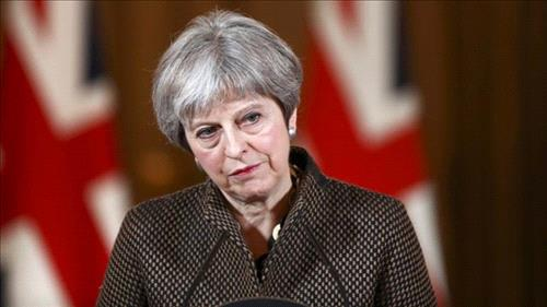 May declines to say whether Assad can stay after missile strikes
