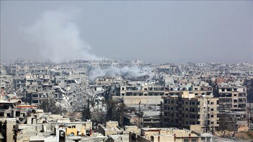 Syrian Army Attacks Terrorist Groups in Southern Damascus
