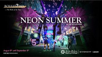 neon summer at the boulevard 2019